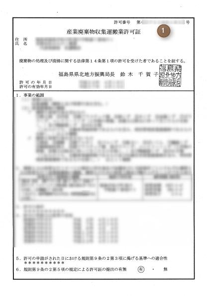 25年度マニフェスト交付等状況報告制度福島県2